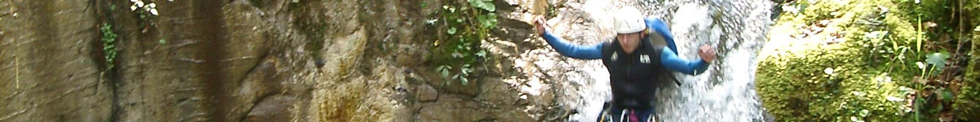 Canyoning dans les Pyrénées