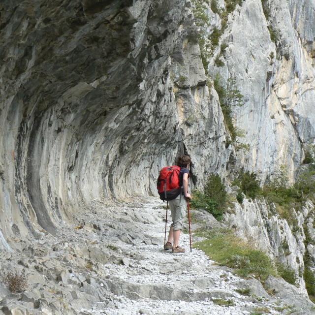 Chemin De La Mature à Etsaut