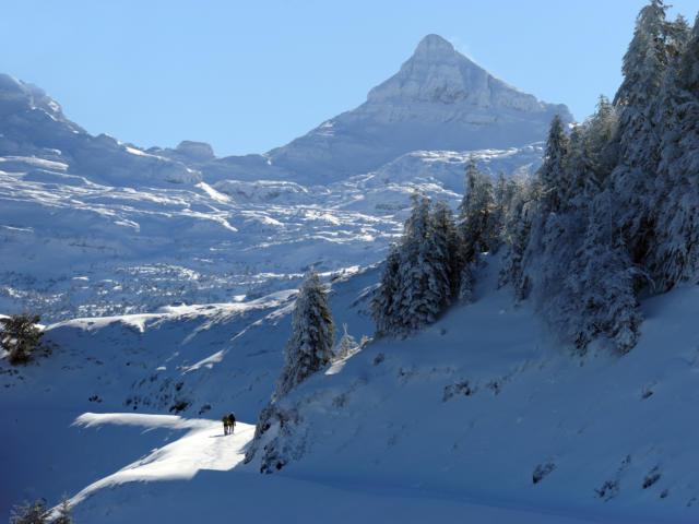 Raquetas de nieve en Issarbe