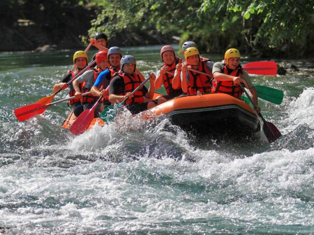 Rafting sur le gave d'Aspe