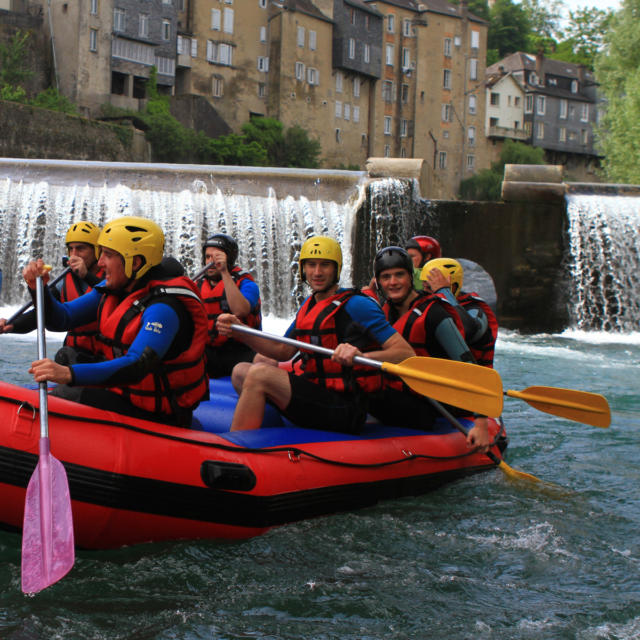 Rafting Sur Le Gave D'aspe à Oloron Sainte Marie