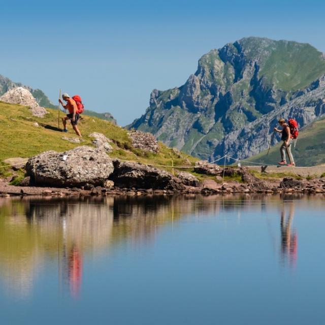 Arlet, lac de montagne