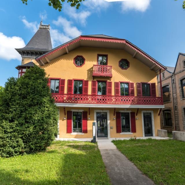 Façade de la Villa Bedat