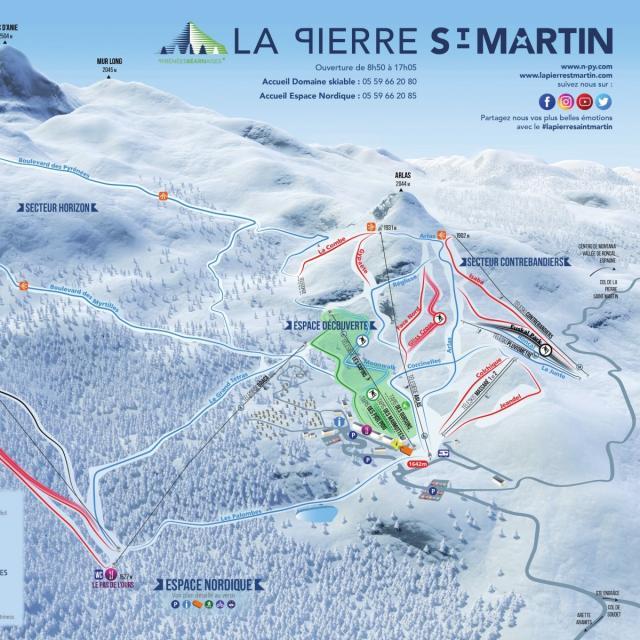 Plan Espace Alpin La Psm